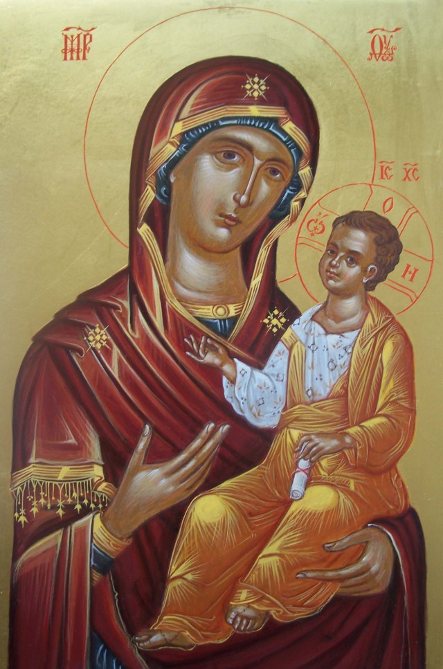 Panagia Brephokratousa Schwester Esthir